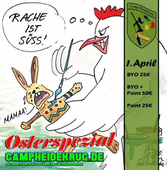 Osterspezial im Camp Heidekrug